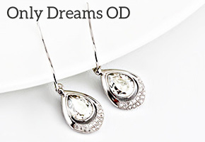 PENDIENTES LUXURYOUXI BY SWAROVSKI ELEMENTS CON ONLY DREAMS