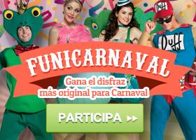 Gana el disfraz más original para Carnaval