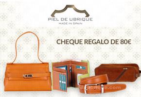 SORTEO DE CHEQUE REGALO PARA GASTAR EN PIELDEUBRIQUE.COM