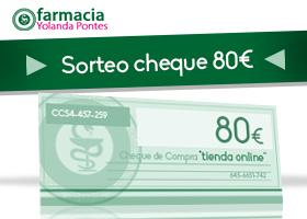CHEQUE DE COMPRA DE 80 EUROS