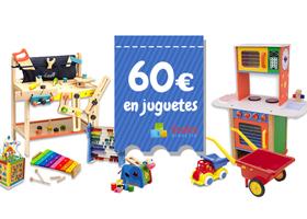 GANA UN VALE DE 60€ EN JUGUETES STOKSDIDACTIC
