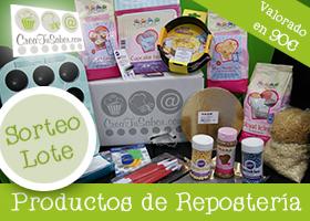 GANA UN LOTE DE PRODUCTOS DE REPOSTERIA