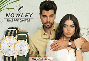 2 RELOJES NOWLEY NAVY COLLECTION