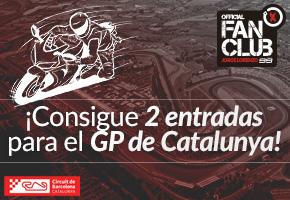 GANA 2 ENTRADAS PARA EL GP DE CATALUNYA