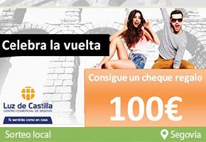 CONSIGUE UN CHEQUE REGALO DE 100€