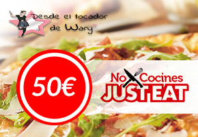 GANA 50€ EN JUST-EAT COMIDA A DOMICILIO