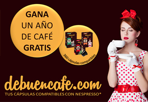 GANA UN AÑO DE CAFÉ GRATIS