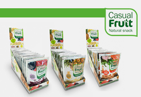 ¡GANA 3 PACKS DE CASUAL FRUIT!