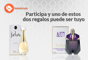 ¡ITEMSTV TE REGALA UN EXCLUSIVO PERFUME!
