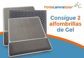 GANA 2 ALFOMBRILLAS DE GEL 1 FELPUDO AG