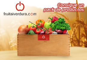 FRUITAIVERDURA.COM SORTEA DOS PACKS DE PRODUCTOS