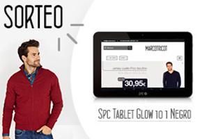 SORTEO DE TABLET GLOW 10.1 NEGRO