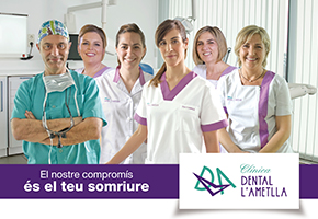 CLINICA DENTAL L'AMETLLA REGALA UN BLANQUEAMIENTO DENTAL
