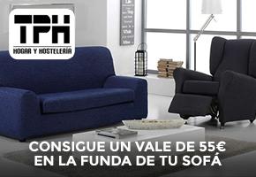 TPH REGALA 55 € PARA FUNDAS DE SOFÁ