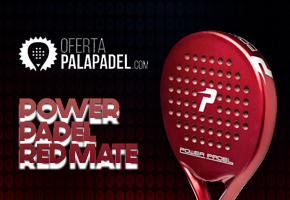 GANA UNA POWER PADEL RED MATE