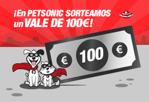 CUPÓN DE 100€ EN PETSONIC