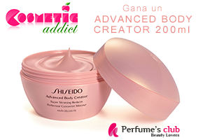COSMETIC ADDICT TE REGALA SHISEIDO ADVANCED BODY CREATOR
