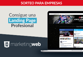 CREACIÓN LANDING PAGE CON MARKETING WEB