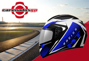 CARENADOS GP REGALA UN CASCO MT THUNDER