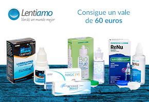 LENTIAMO SORTEA 60€ PARA COMPRAS EN SU WEB