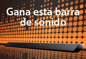 GANA ESTA BARRA DE SONIDO