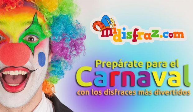 PACK DE DISFRACES PARA CARNAVAL CON MIDISFRAZ