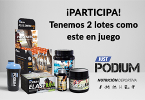 ¡DEPORTISTA! GANA JUST PODIUM